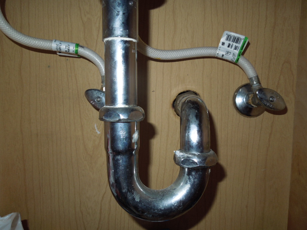 Plumbing Under Bathroom Vanity