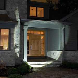 Contemporary Entryway lit with LED image via PegasusLighting