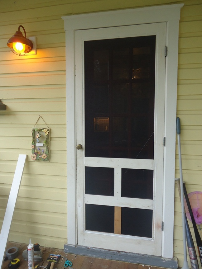 Wooden Screen Door Diy on