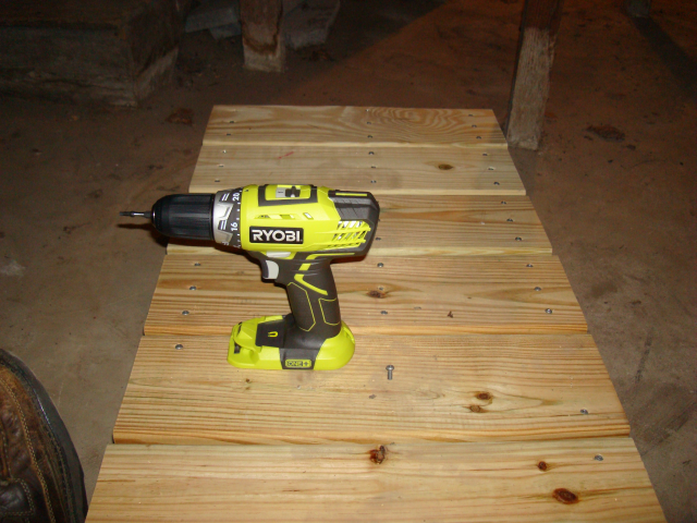 Ryobi 18V Lithium Ion ONE+ Compact Cordless Drill Battery Missing