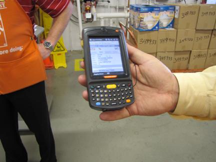 Home Depot First Phone