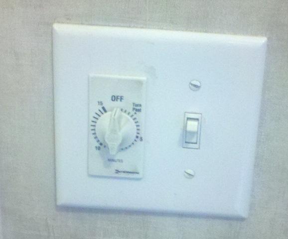 Bath Fan Timer Double Switch