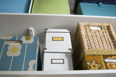 Craft Room Storage Boxes