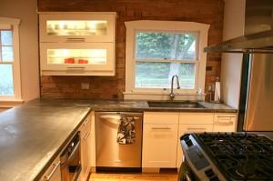 Transitional Kitchen via faboolous