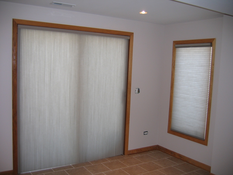 Six window treatments for sliding glass doors building moxie vertical cellular shades planetlyrics Gallery