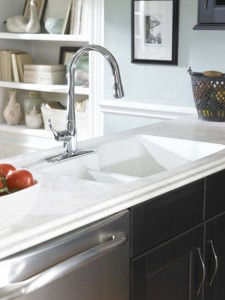 left offset sink wilsonart hd Perla Piazza