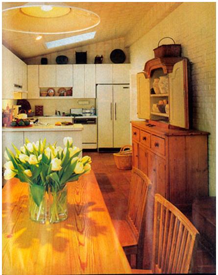 1980s Cream Kitchen House Beautiful