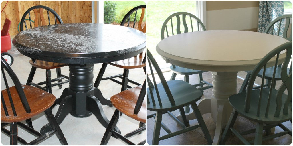 what kind of paint to use on dining room table | The Four P's of Refinishing Furniture with Paint :: How to ...