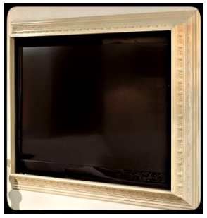 Crown Molding Ideas :: Crown Molding TV Frame