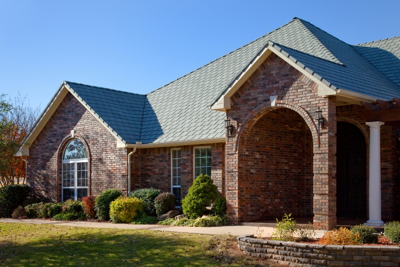 Selecting Roof Colors To Complement Brick Or Stone Exteriors