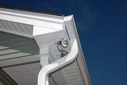 gutter image via the Phoenix Roofing Team