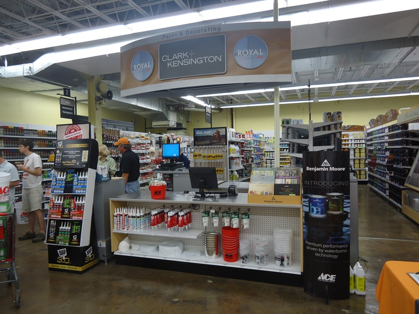 Baltimore's Newest Ace Hardware :: Paint Desk