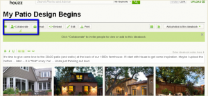 Collaborating on Houzz :: Collaborate Feature Houzz Ideabook