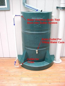 Rain Water Harveseting Barrel Labeled image via Paul Michael
