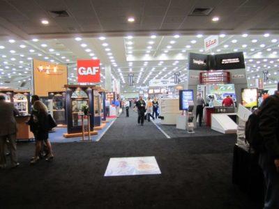 Remodeling Show Floor Entrance