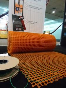 Flextherm Underfloor Heat FlexSnap Mat