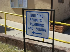 building permit sign planning and zoning via flicr