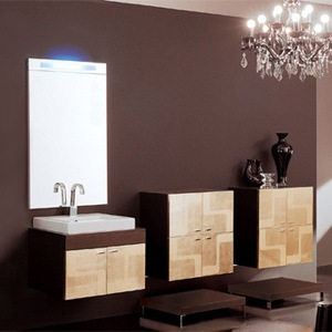 Bathroom Vanity Combos :: Contemporary Wall Hung Vanity Combo