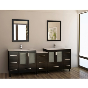 Bathroom Vanity Combos Modern Double Combo