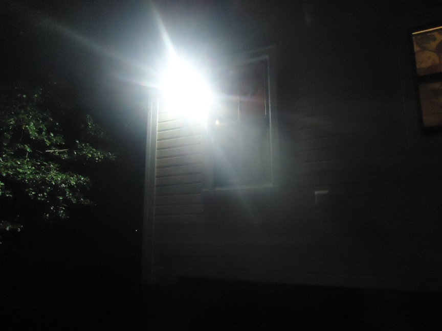 Motion Sensing Light At Night