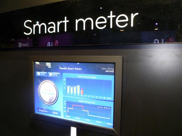 smart meter display via flickr