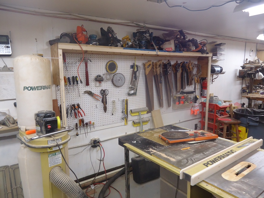 Inside Beth's DIY Workshop