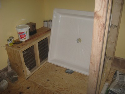 Building a Shower Bench