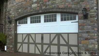 Overview of garage door materials wood steel for Garage door materials