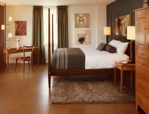 Thos Moser suite Harraseeket Inn