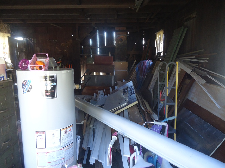 building materials horder