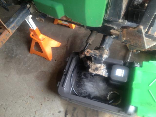 BenchTop Pro Below John Deere Tractor