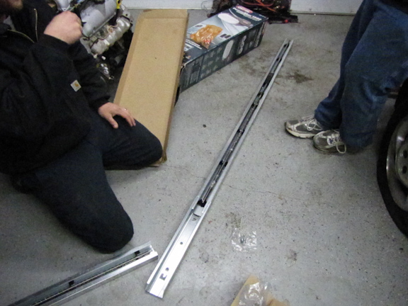 assembling rail Genie PowerMax 1500
