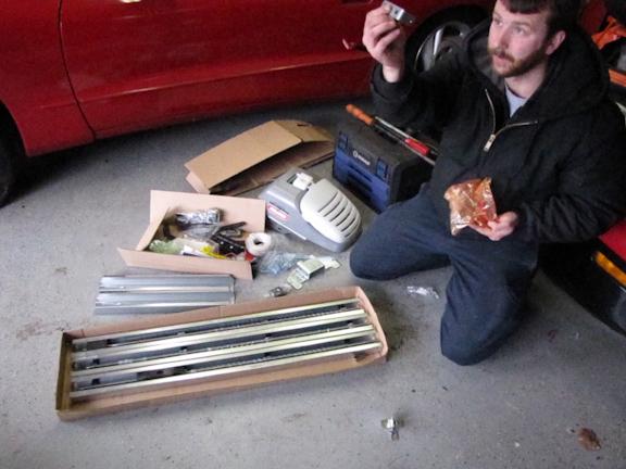 parts identified on the Genie PowerMax 1500