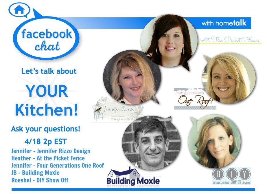 Hometalk Facebook Chat