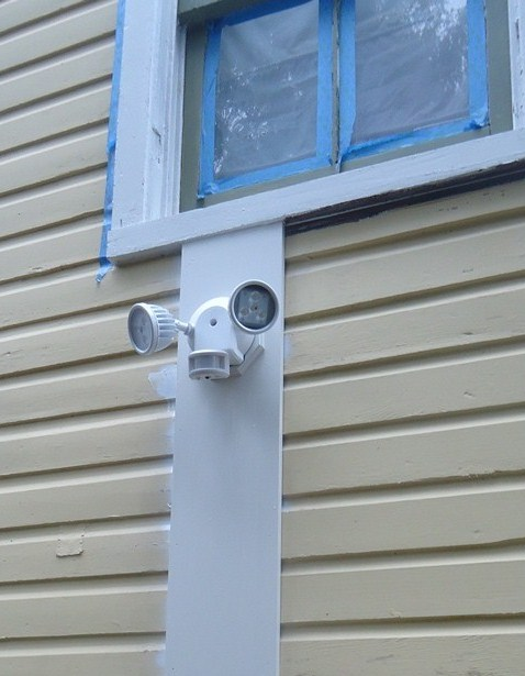 Motion sensing two head exterior lightTroubleshooting a Hard Wired Security System   Building Moxie. Motion Sensor Porch Light Not Working. Home Design Ideas