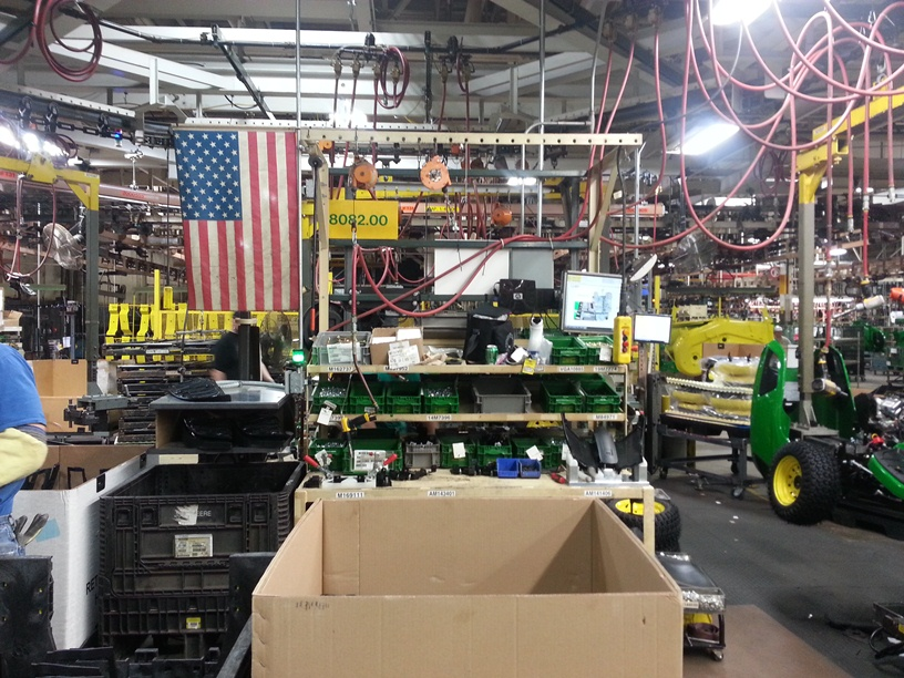Behind the Scene John Deere Horicon Works