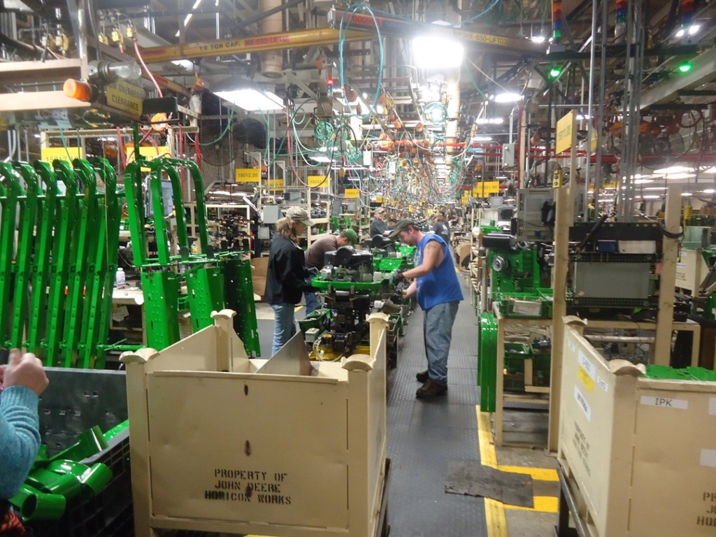 How We Run John Deere EZTrak Assembly