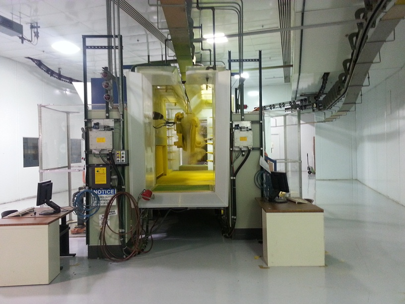 John Deere Horicon Works Powder Coating Booth