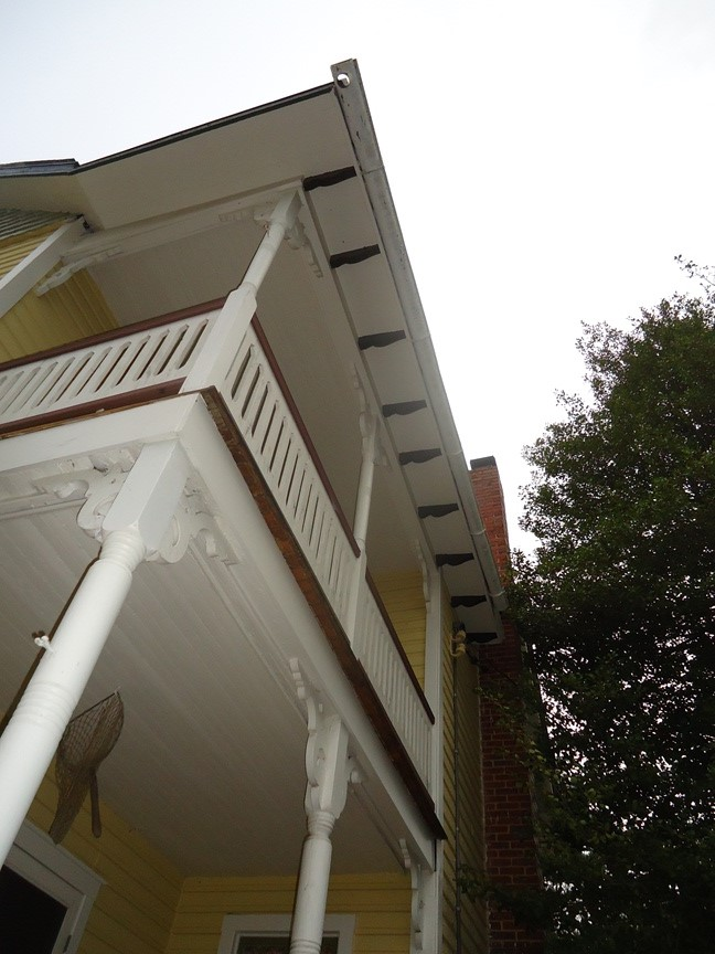 existing half round gutter lengths