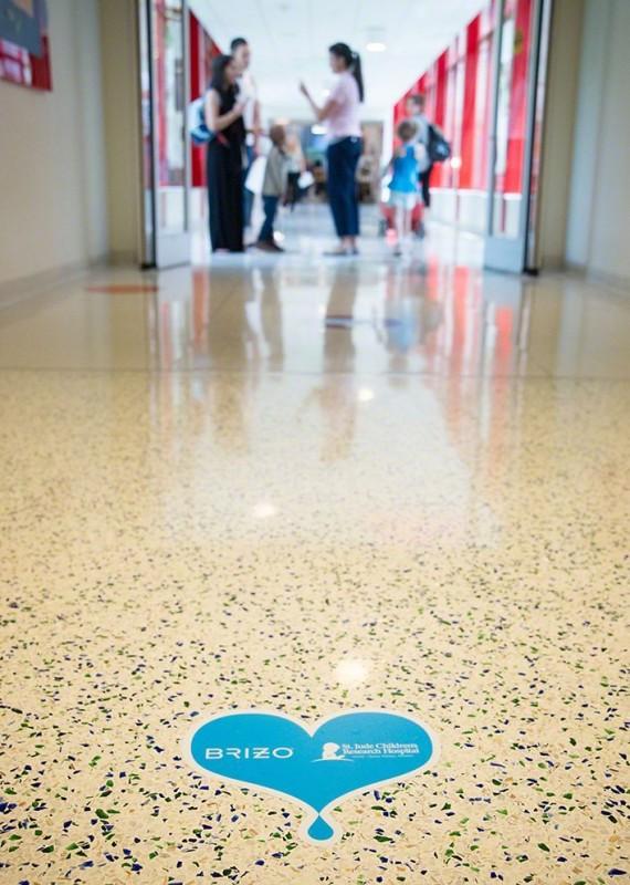 Floor Emblem hallway