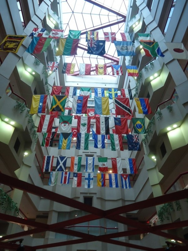 International Flags at St Jude Children's Research Hospital