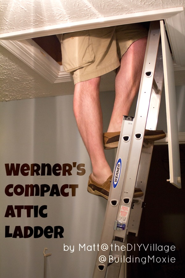 Installing A Werner Compact Attic Ladder Amp Review