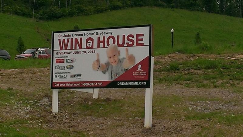 Win a Dream Home Signage