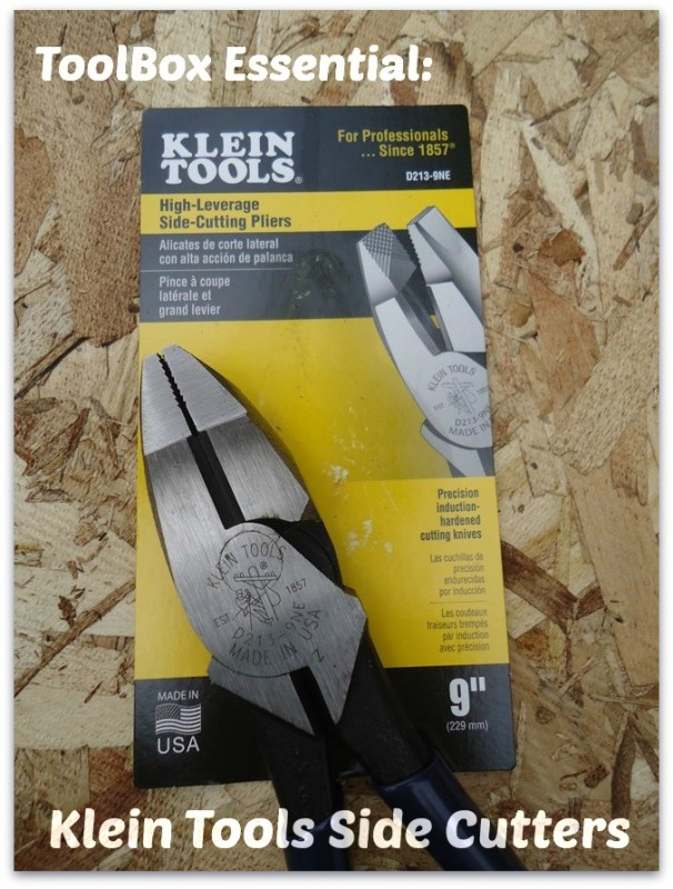 Klein Tools Side Cutters D213 9NE