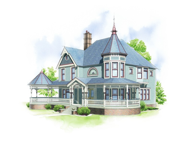 American Home Style :: Victorian