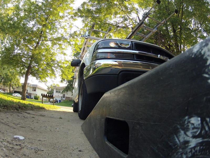Chevy S10 work truck