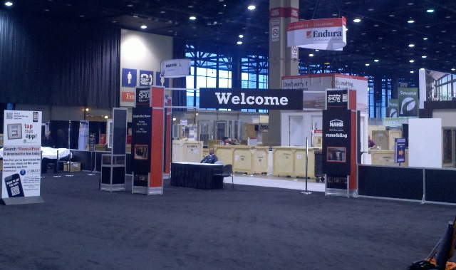 2013 Remodeling Show Floor Before it Opens