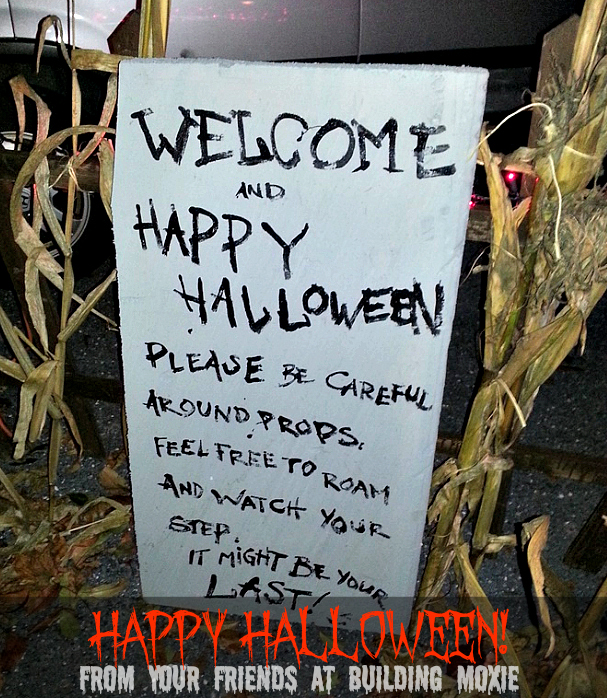 Welcome Happy Halloween #Halloween #Decorations