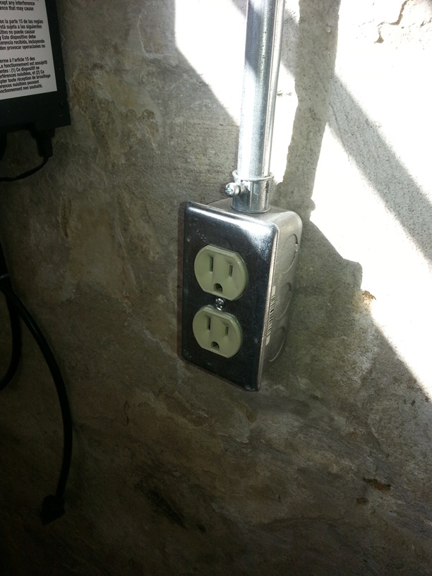 Outlet Cover Installed