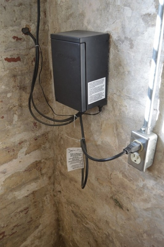 power pack and new outlet installed